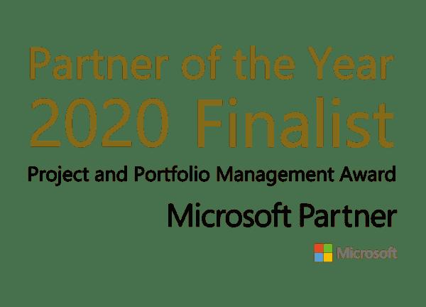 Microsoft Partner Finalist 2020