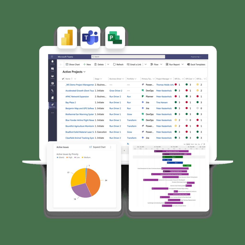 Power PPM view project portfolio management solution