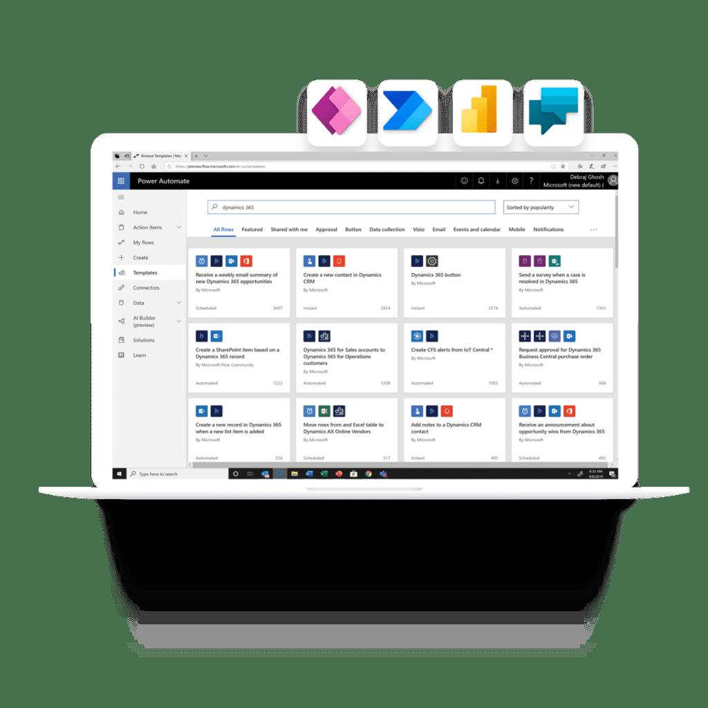 Microsoft Power Platform with Projectum