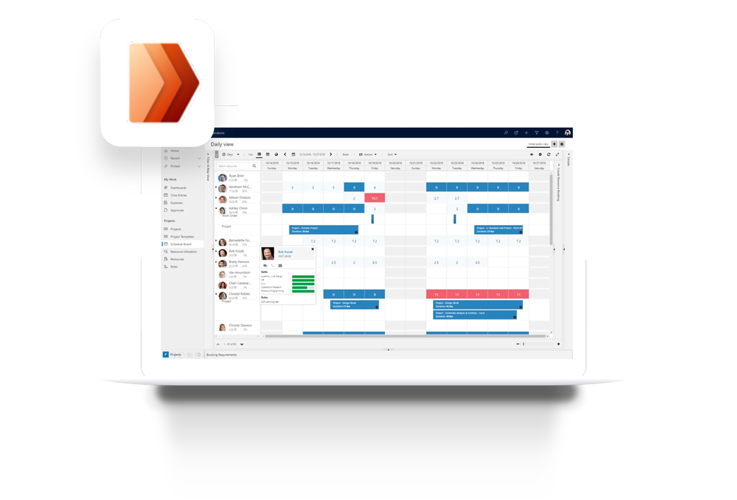 Project operations view |Projectum project consulting